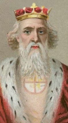 Edward The Confessor (King of England from 1042-1066). He succeeded his half-brother, Harthacnut, in 1042. Edward built the first Westminster Abbey, which was consecrated in 1065.