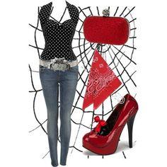 Cute rockabilly outfit