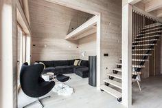 Chalet contemporain par le studio d'architecture Pikaplus - Journal du Design