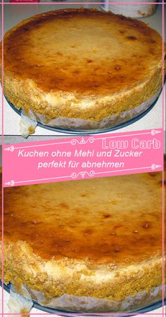 Cake without flour and sugar perfect for losing weight - Rezepte - INGREDIENTS (for a 26 springform pan): 500 g lean quark 120 g grated coconut 63 g butter or margarin - Dessert Simple, Bon Dessert, Low Carb Desserts, Healthy Desserts, Easy Desserts, Law Carb, Springform Pan, Ketogenic Recipes, Food Cakes