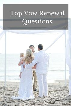 vow renewal questions