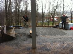 and there are more pavers...