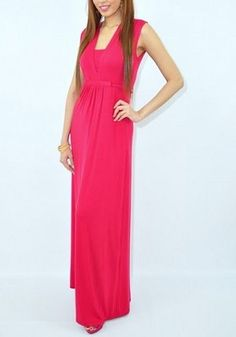 A Maxi dress for during & after your pregnancy! Breastfeed in style in this cute nursing dress. www.milkandbaby.com