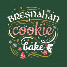 Freelance Project - Trendy holiday apron for Family Christmas Cookie Bake by e412