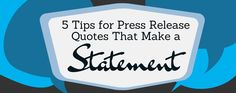 Harness the power of quotes in your next press release via @PRNA4Media