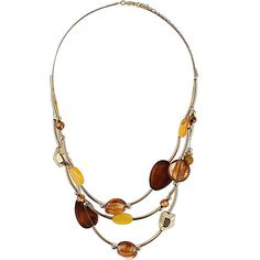 Yellow Multirow Shell And Bead Necklace ($9) ❤ liked on Polyvore featuring jewelry, necklaces, accessories, beaded jewelry, shell necklace, beaded necklaces, multi strand necklace and seashell jewelry