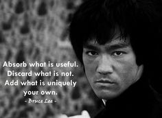 This is my favorite quote of Bruce Lee. I truly admire the essence of the quote. What is your favorite quote of Bruce Lee? Share with me. Want to make your child a martial arts expert? Then find a good martial arts school and let him nurture his combative skills. Visit http://www.advancemartialartsconnect.com/?utm_source=socialmedia&utm_medium=pinterest&utm_campaign=sepbruceleequote #martialarts #brucelee