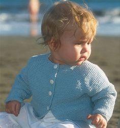 Super sød babyjakke med fin lukning Knitting For Kids, Baby Knitting Patterns, Baby Barn, Knit Crochet, Chrochet, Free Pattern, Baby Kids, Infant, Pullover