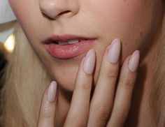Nail Art You Can Actually Do in 5 Minutes - Cosmopolitan- Pretty pink polished tips.