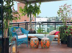 100 varandas e terraços