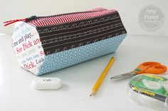 This PDF pattern is for a six sided, fully lined, zippered bag with hexagonal ends makes for a roomy pencil case though it could be used for so many other purposes too due to its generous size. You…