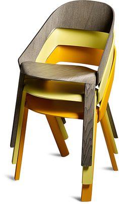 Wogg 50, a light, stackable chair