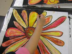 sunflowers | Georgetown Elementary Art Blog