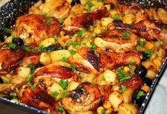 14 elképesztően jó kukoricás csirke Beef Recipes, Chicken Recipes, Cooking Recipes, Healthy Recipes, Good Food, Yummy Food, Just Eat It, Hungarian Recipes, Hungarian Food