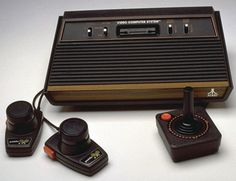 Atari 5200. for playing q*bert and asteroids. we loved ours!!