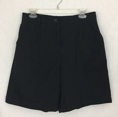 Talbots Petites Woman's Size 12 Casual Shorts Pockets Black #Talbots #CasualShorts #Casual