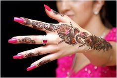 simple bride mehndi designs