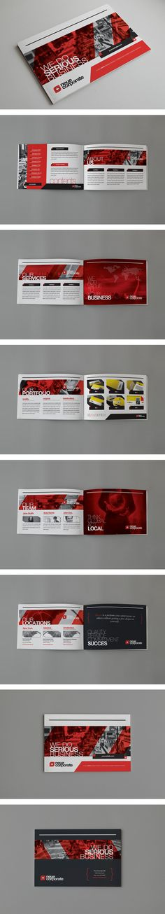 Sponsorship Proposal Template InDesign INDD. Download here: http ...