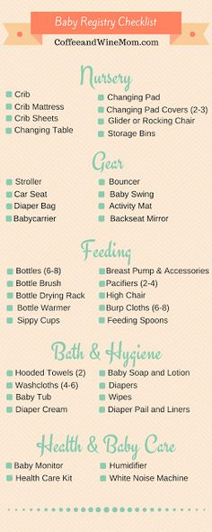 8 Tough Baby Registry Decisions \u2014 and How to Make Them Baby - baby registry checklists