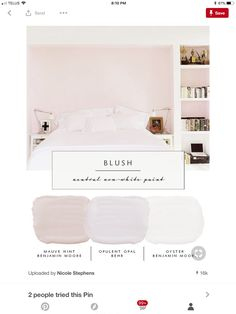 The Prettiest Blush Pink Paint Colors Behr Walls And