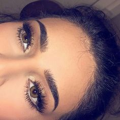 Perfect brows.