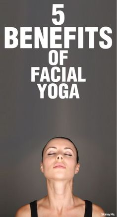 Did you know facial yoga can actually help with anti-aging? Here are two poses to try out to help say goodbye to crow's feet and stick to crow's pose! #yoga #antiaging