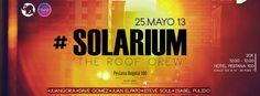 #Solarium The Roof Crew at Phononova- Terraza Hotel Pestana 100-Bogotá