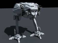 All-Terrain Storm Walker (AT-SW) – Fractalsponge.net