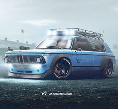 """2,149 Likes, 44 Comments - Yasid Design (@yasiddesign) on Instagram: """"Sometimes you just need to convert a BMW 2002 for a trip. Any idea what else could look good with…"""""""