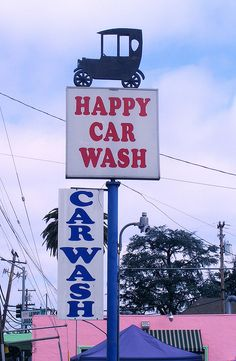 Happy Car Wash.....San Jose, California