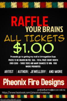 new stuff! RAFFLE YOUR HEAD OFF! (How to buy Raffle Tickets for my Raffle!) http://jehaldeman.us/?p=2160