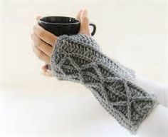 Free Crochet Pattern Fingerless Gloves Mittens - Bing images