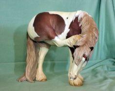 Sculptor and painter Jen Kroll - Chookhenge Studio - model horse