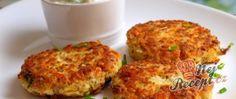 Zeleninovo jáhlové karbanátky s chia Raw Vegan, Vegan Vegetarian, A Food, Food And Drink, Cooking Recipes, Healthy Recipes, A Table, Cauliflower, Yummy Food