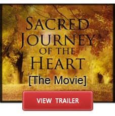 a sacred journey, vulnerable & with an open heart. a journey of healing.