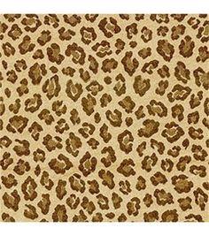 Upholstery Fabric-Waverly Paradise Found Serengeti Leopard
