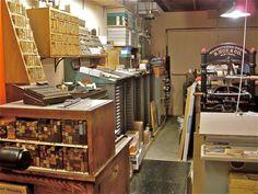Setting Up Shop / Devil's Tail Press by typesticker, via Flickr