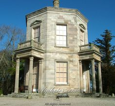 Temple of the Winds in the grounds of Mount Stewart House, near Newtownards, Co Down, Northern Ireland.