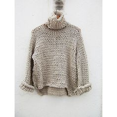 Chunky Wool Cardigan, Super thick cardigan, Arm knit sweater, Merino... (455 RON) ❤ liked on Polyvore featuring tops, cardigans, chunky cardigan, wool cardigan, chunky-knit cardigans, woolen tops and merino cardigan