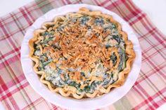 the chew | Recipe | Michael Symon's Creamed Spinach Pie