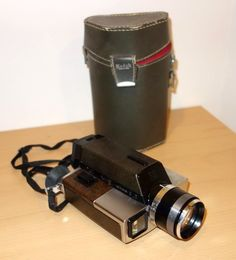 Vintage Kodak XL55 Home Movie Camera Super 8 MM Video Recorder #Kodak