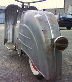 vintage rear fender idea