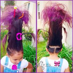 Pin for Later: Spirited Halloween Hair Ideas to Complete Your Child's Costume