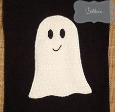 Ghost Applique - 3 Sizes! | What's New | Machine Embroidery Designs | SWAKembroidery.com Belliboos
