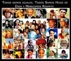 Reflexión; Todos somos UNO y la Diversidad también nos une en el Amor, Respeto y Tolerancia...Sigue LEYENDO haciendo CLIC en la FOTO abajo