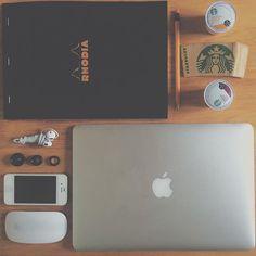 Caffe-Life.com @caffelife #macbook #air #st...Instagram photo | Websta (Webstagram)