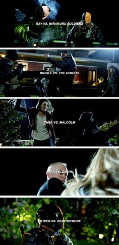 They all had a chance to avenge their loved ones :') #Arrow #Season5 #5x08 #Arrow100 - Crossover Part 2!
