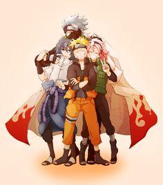 Tags: Fanart, NARUTO, Haruno Sakura, Uzumaki Naruto, Uchiha Sasuke, Hatake Kakashi, Pixiv, Team 7, Pixiv Id 4066985