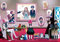 Mawaru Penguindrum, anime, surreal, psychological, penguins