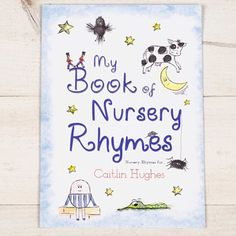 Personalised Nursery Rhymes Book - Hardback 4369D Personalised Nursery Rhymes BookThis beautiful hardback book is filled with classic Nursery Rhymes, and to make it extra special, the book can be personalised with a name and personal message of your  http://www.MightGet.com/january-2017-13/personalised-nursery-rhymes-book--hardback-4369d.asp